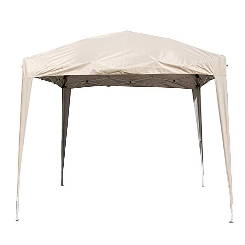 Greenbay 2.5x2.5m Pop Up Gazebo Top Cover Replacement Only Canopy Roof Covers Beige