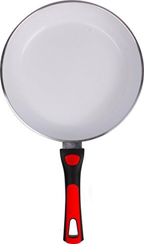 Durandal Keramik-Pfanne CeraClick | Bratpfanne mit abnehmbarem Griff | Servierpfanne antihaftbeschichtet | bis 220 °C hitzebeständig | PTFE-frei (20 cm)