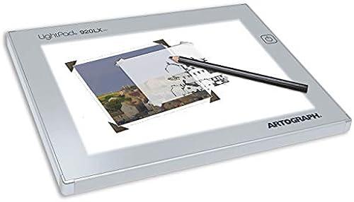 Artograph LightPad Lightbox mit Arbeitsfl e 6 X 9 Weiß