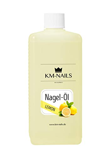 KM-Nails Nagelöl Lemon super Duft & Pflege 500ml gute alternative zu Cleaner