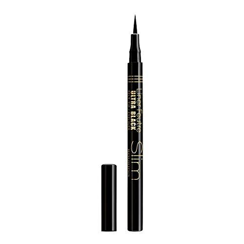 Bourjois Eyeliner Penna Liquido Liner, Feutre Punta in Feltro Ultra Precisa, Ultra Black