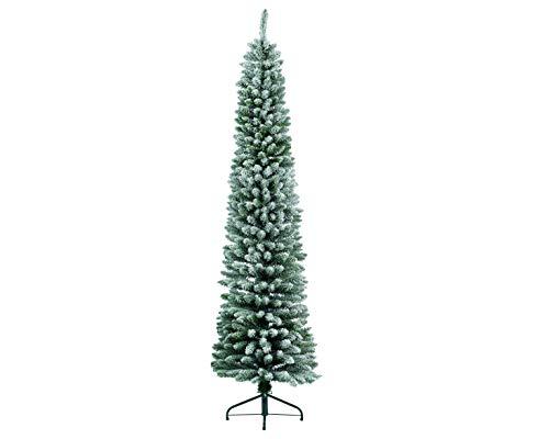 Kaeming ARBOL DE Navidad Pino 210 CM Snowy Pencil Pine 574 Ramas...