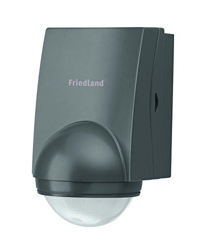 Friedland Spectra+ L320BLK Bewegungsmelder 200° inkl. Fernbedienung, schwarz