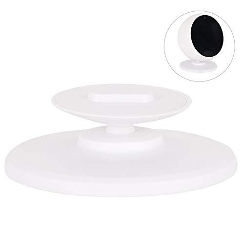 Wandhouder met 360 graden rotatie van metaal voor spot-luidsprekers van Amazon Echo Spot verstelbare houder van gepolijste aluminiumlegering - zwart