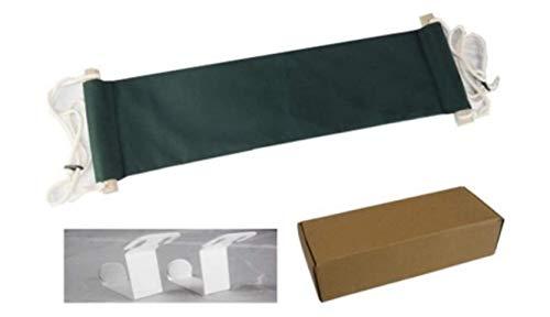 Pied Hamac - Portable réglable et repose-pieds sous le bureau Design ergonomique pour Office Home 17,8 cm de large, pliable faciles à Repose-pieds Repose-pieds pour soulager les douleurs tendon Green