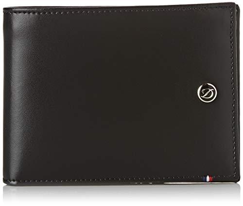 S.T Dupont D-180002 Geldbörse für Kreditkarten und Ausweise, Schwarz