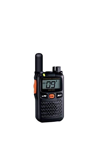 スタンダードホライゾン 特定小電力トランシーバー ショートアンテナ 交互/中継通話対応 Bluetooth対応 SRS220S