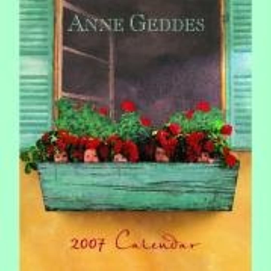 生活電気ハイランドAnne Geddes Classic Collection 2007.  Wandkalender gross.