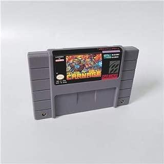 Game card Total Carnage - Action Game Card US Version English Language Game Cartridge SNES , Game Cartridge 16 Bit SNES