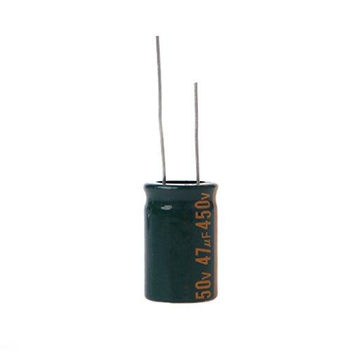 Yintiod 450V 47uF Kapazität Elektrolytischer Radialkondensator Hochfrequenz Niedriger ESR