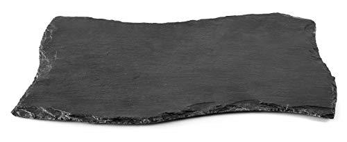 LACOR Tafelplatte Gewellt, Tafel, Schwarz, 20 x 10 x 1 cm