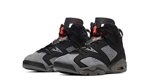 Nike Air Jordan 6 Retro PSG CK1229-001 Iron Grey Negro Size: 13 US