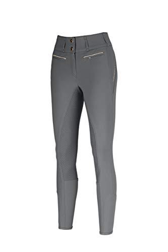 Pikeur Jonna Grip Damen Reithose Vollbesatz Steel Grey New Generation 2021, Größe:34