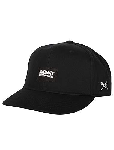 IRIEDAILY Herren Baseball Cap Minimentum Snapback in Black, One Size