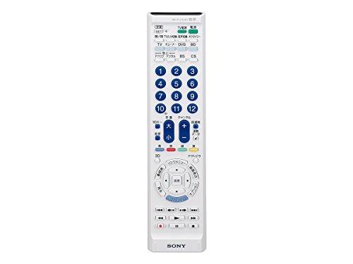 ソニー SONY 学習機能付きリモコン テレビ/レコーダーなど最大4台操作可能 RM-PLZ330D