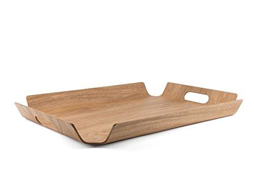 Bredemeijer BG00003 Tablett Madera rechteckig Weidenholz, XL