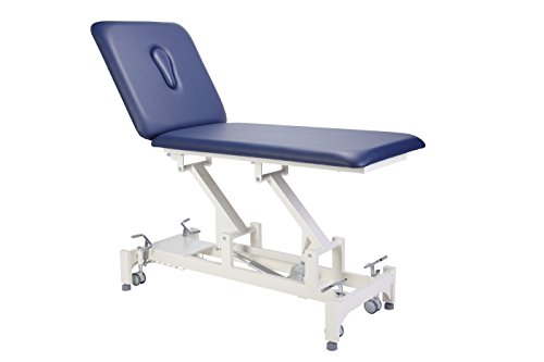 Everyway4all Taiwan CA20 Duo 2 Section Physical Therapeutic Therapy Treatment Table Electric (Blue)