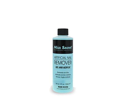 Mia Secret Professional Artificial Nail Remover Gel & Acrylic (4 Fl.oz)