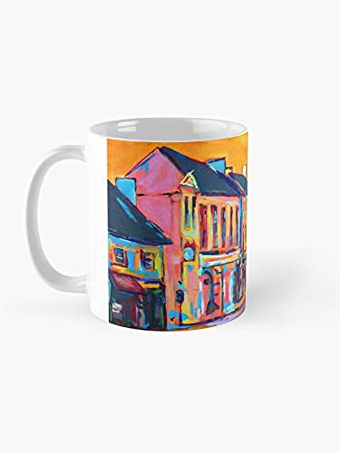 Rock Street, Tralee, (County Kerry, Irlanda) Mug Funny artistic Coffee Mug (11 Oz)