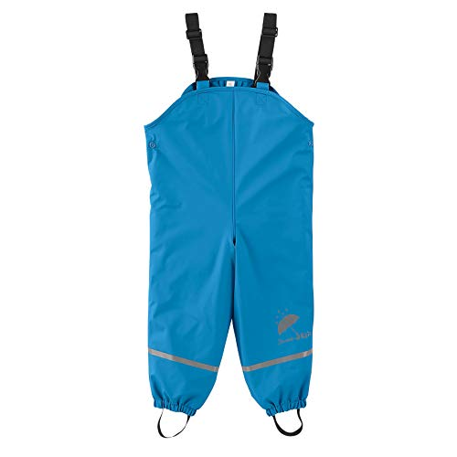 Sterntaler Jungen Leggins Uni, Leggings Fille Regenhose, Blau, 122