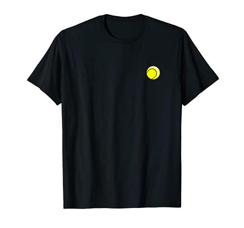 Pelota de tenis pequeña estilizada – tenis Camiseta