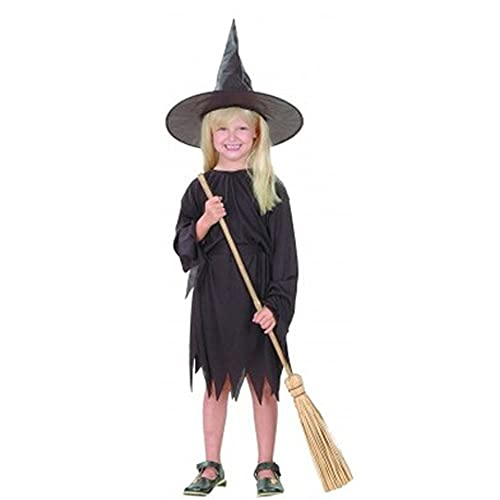 Sarvda Halloween Costume For Kids Boys Girls Baby Women Men   Scary CosPlayDevil Wicked Witch Characters Role Play  California Horror Theme Festival Party Decoration Gift Accessories (6-8 Years)