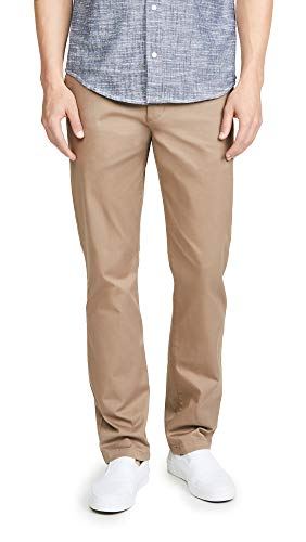RVCA Gifts Week-End Stretch Straight Fit Pant Grey 34