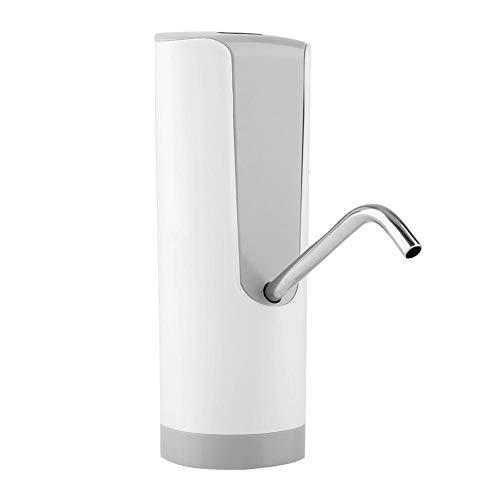 FTVOGUE Interruptor automático del botón del dispensador de la Botella de Agua de la Carga por USB de la Bomba de Agua para el Uso casero de la Oficina de la Cocina