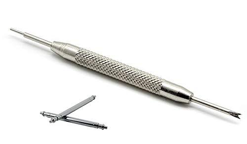 Federstege und Werkzeug 22 mm Edelstahl Uhrenstifte (Ø 1,5 mm) für Uhren und Armbänder