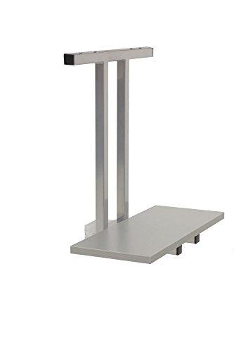 PC-Halter für Elektrisch höhenverstellbarer Schreibtisch,e Silber