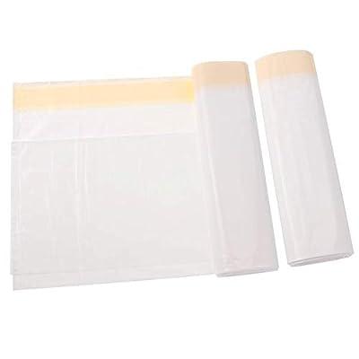 14 PCS Cat Litter Tray Liners with Drawstring, Thickened Cat Litter Bags Litter Box Bags Liners Pet Garbage Bag Liner Disposal Bags (Medium)