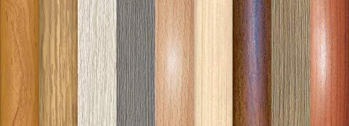 Übergangsprofil Anpassungsprofil Ausgleichsprofil 40 mm Holzdekor Ahorn(C 01)