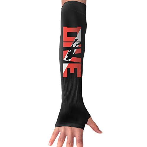 Tauchen Langarmhandschuh Sonnenschutz Armmanschette Mit Daumenlochern