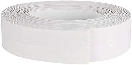 Zelfklevende Flexibele Caulk Strip Tape Voor Badkamer Toilet Keuken En Wandafdichting, 3.2m (3 Stuks) (Color : White, Size...