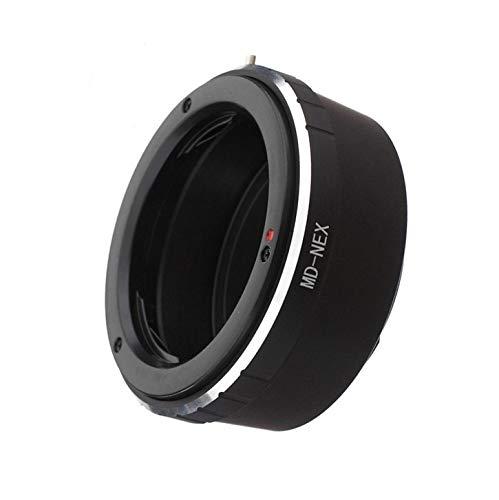 MD-NEX - Adaptador de objetivo para Minolta Rokkor (SR/MD/MC) para cámaras Sony NEX E-Mount NEX-3, NEX-3C, NEX-3N, NEX-5, NEX-5C.Alpha a7, a7R, a6500, a6300, a6000, a5100, a5000, a3500, a300 0.