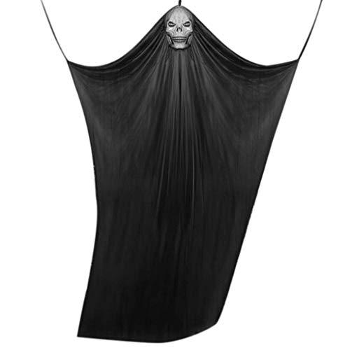 LQH Decoración de Halloween Gasa Sheer Gasa Elemento del Partido del Rollo de Hilo decoración 10.8ft (Size : 2)