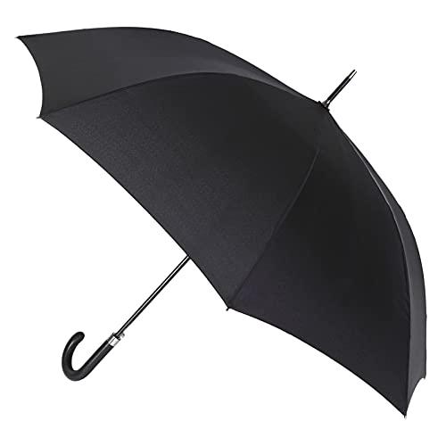 VOGUE. Paraguas Largo de Hombre. Elegante y Atemporal. Paraguas automático. Antiviento y Acabado Teflón.