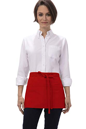 Chef Works Waist Apron, Red, One Size - http://coolthings.us