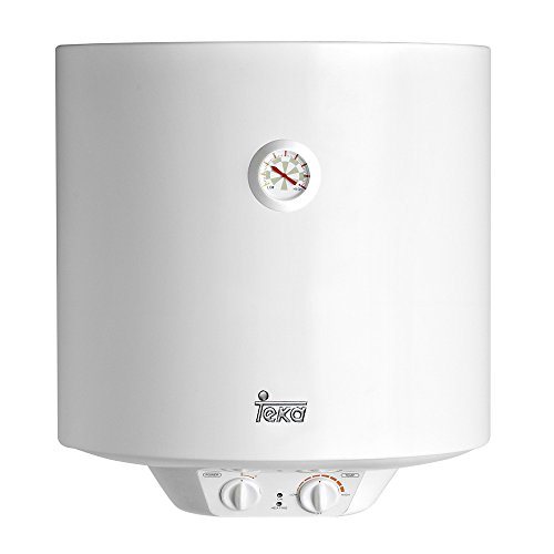 potente para casa Caldera eléctrica Teca EWH 50, 1500 W, blanca