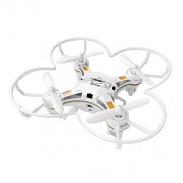 GoolRC FQ777 Drone de Bolsillo 124 2.4G 4CH Seis Ejes Gyro RC Quadcopter RTF con Función de Retorno Una-Tecla Modo sin Cabeza 3D-flip