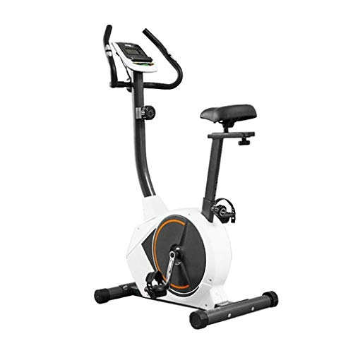 Vélos elliptiques Bicicleta De Interior Bicicleta Estática Transmisión Directa por Correa Pantalla Multifunción Asiento Ajustable con Monitor De Frecuencia Cardíaca Pantalla LCD