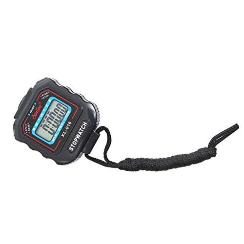 BESPORTBLE Cronómetro Digital Temporizador Cronógrafo Cuenta Atrás Temporizador con Pulsera Alarma Regalos para Profesores Corrector Runner Deportes Cocina Niños Salón de Clases