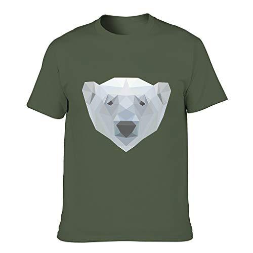 Men's T-shirts - Green - XL