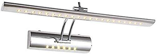 Meixian wandlamp binnen 700 mm verstelbaar badkamerlicht boven de spiegelkast 85-265 V 9 W koud warm wit? Edelheid met schakelaar koud wit? Eenvoudig retro