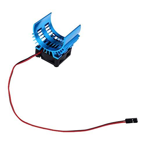 Hellery para HSP Axial RC Modelo Crawler Car 540 Motor Disipador de Calor Y Ventilador de Refrigeración