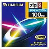 FUJIFILM ZIP DISK ZIPディスク 100MB Windowsフォーマット