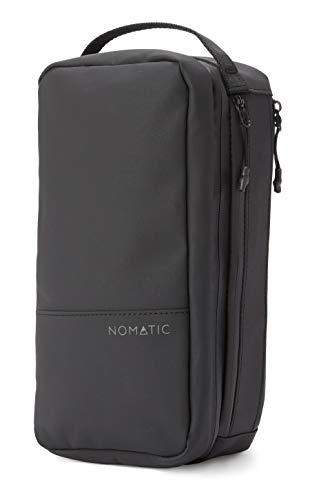 NOMATIC- Toiletry Wash Bag for Travel, Waterproof Storage Case for Shaving Kit, Makeup, Toiletries (Black), Large V2