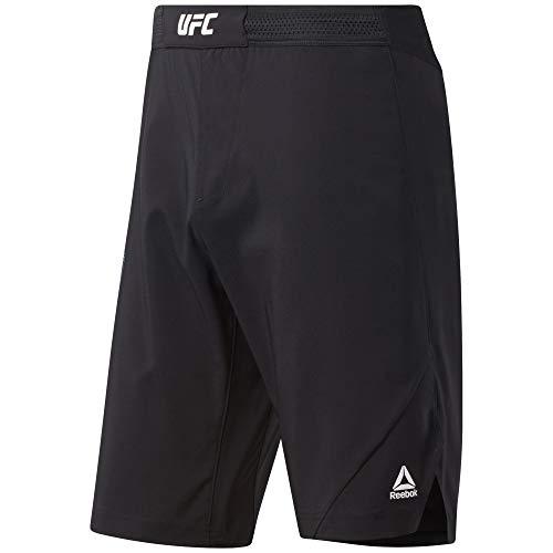 Reebok RBK MMA Short Pantalón Corto, Hombre, Negro, 29'