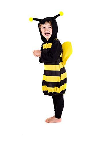 Fun Shack Negro Abejorro Disfraz para Niños y Niñas - S