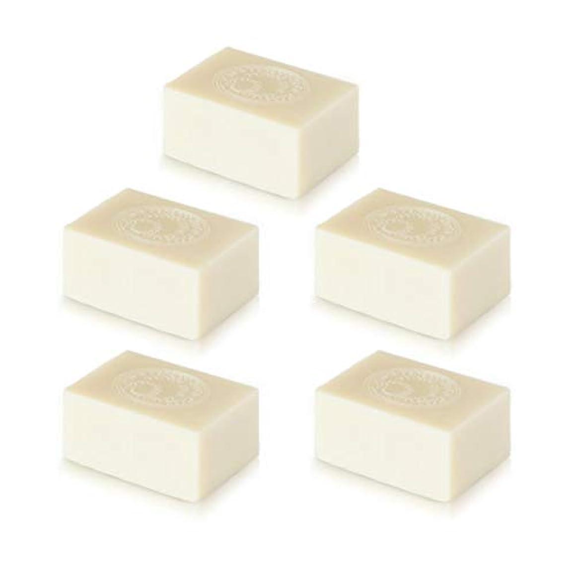 リネンイライラする協同ナイアード アルガン石鹸5個セット( 145g ×5個)無添加アルガン石鹸